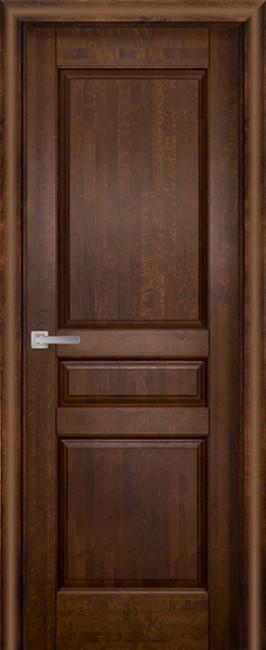Фото -   Межкомнатная дверь Валенсия ДГ, античный орех     фото в интерьере