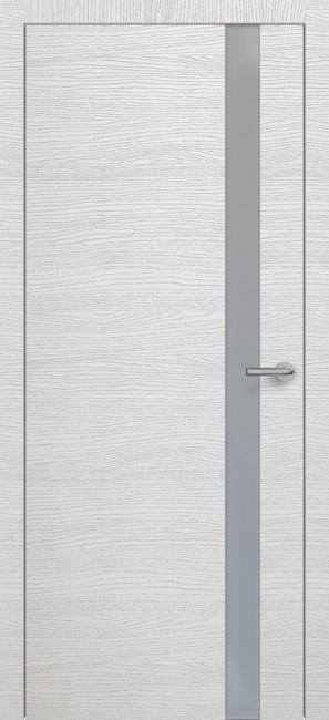 Фото -   Межкомнатная дверь Zadoor ПО H2 Окаша Сильвер   | фото в интерьере