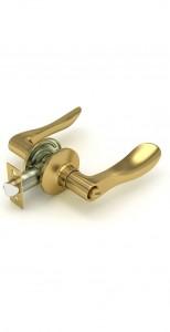 Сириус, ручка-защелка, золото