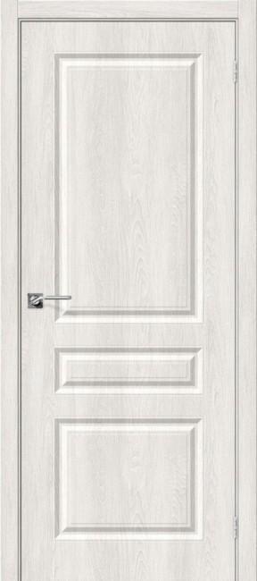 """Фото -   Межкомнатная дверь """"Скинни-14"""", пг, Casablanca     фото в интерьере"""
