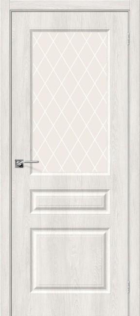 """Фото -   Межкомнатная дверь """"Скинни-15"""", по, Casablanca     фото в интерьере"""