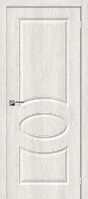 """Фото -   Межкомнатная дверь """"Скинни-20"""", пг, Casablanca     фото в интерьере"""