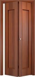 Складная дверь С-17, итальянский орех