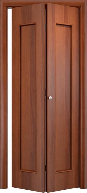Фото -   Складная дверь С-17, итальянский орех   | фото в интерьере