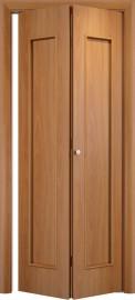 Складная дверь С-17, миланский орех