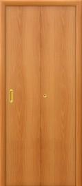 Складная дверь Гладкая, миланский орех