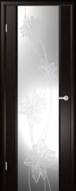 """Межкомнатная дверь """"Стелла 2"""", по, венге"""