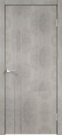 """Межкомнатная дверь """"TECHNO М2"""", пг, Муар светло-серый"""