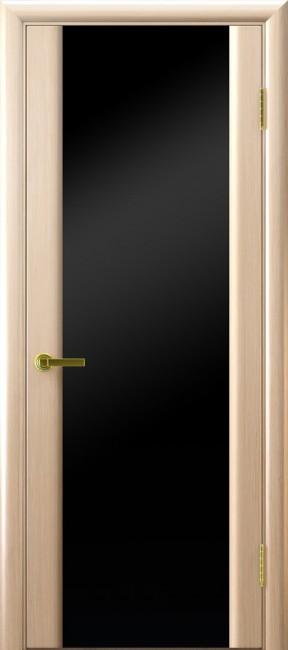 """Фото -   Межкомнатная дверь """"Синай 3"""", по, беленый дуб     фото в интерьере"""