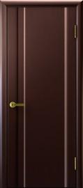"""Межкомнатная дверь """"Техно 1"""", пг, венге"""