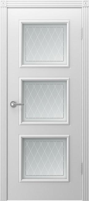 """Фото -   Межкомнатная дверь """"Тенор"""", по, белый     фото в интерьере"""