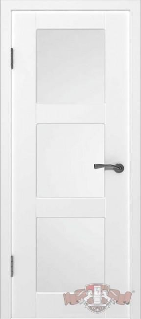 """Межкомнатная дверь """"Трио"""", по, белый"""