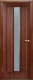 """Межкомнатная дверь """"Троя"""", по, темный орех"""