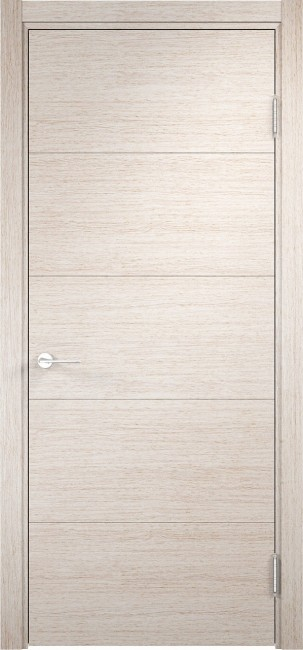 """Фото -   Межкомнатная дверь """"Турин 01"""", пг, дуб бежевый вералинга     фото в интерьере"""