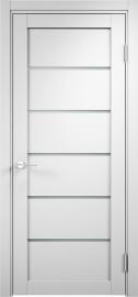 """Межкомнатная дверь """"Турин 02"""", по, белый ПВХ"""