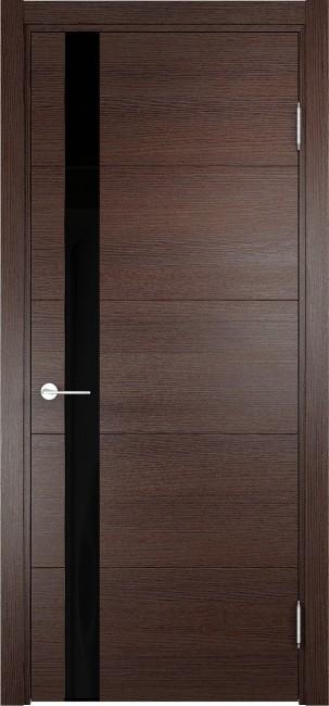 """Фото -   Межкомнатная дверь """"Турин 03"""", по, дуб графит вералинга     фото в интерьере"""