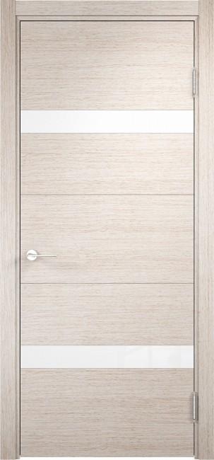 """Фото -   Межкомнатная дверь """"Турин 05"""", по, дуб бежевый вералинга     фото в интерьере"""