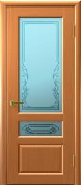 """Межкомнатная дверь """"Валентия 2"""", по, анегри тон 34"""