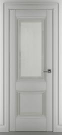 """Межкомнатная дверь """"Венеция В1"""", по, серый матовый"""