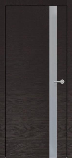 Фото -   Межкомнатная дверь Zadoor ПО H2 Окаша Венге   | фото в интерьере