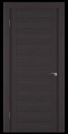 Фото -   Межкомнатная дверь Zadoor ПГ ECO 1 Венге   | фото в интерьере