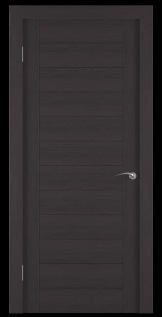 Фото -   Межкомнатная дверь Zadoor ПГ ECO 1 Венге     фото в интерьере