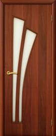 """Межкомнатная дверь """"Ветка"""", по, итальянский орех"""