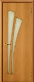 """Межкомнатная дверь """"Ветка"""", по, миланский орех"""