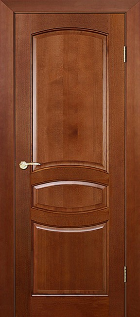 """Фото -   Межкомнатная дверь """"Виктория"""", пг, ирокко морение     фото в интерьере"""