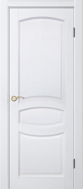 """Межкомнатная дверь """"Виктория"""", пг, Белый жемчуг"""