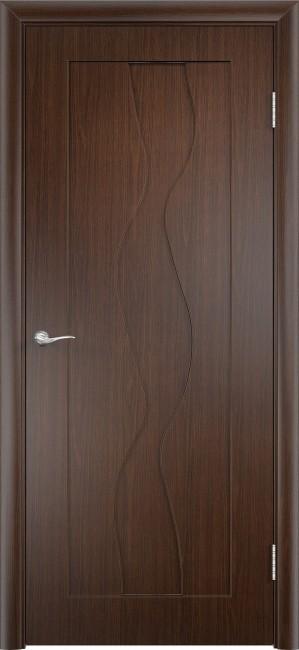 """Фото -   Межкомнатная дверь ПВХ """"Вираж"""", пг, венге     фото в интерьере"""