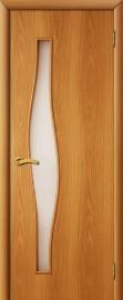 """Межкомнатная дверь """"Волна"""", по, миланский орех"""