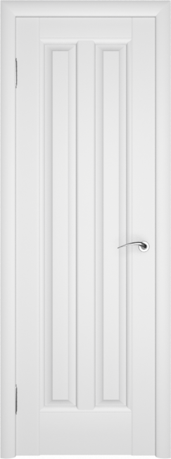 Фото -   Межкомнатная дверь ПГ Премьер Белая Эмаль   | фото в интерьере