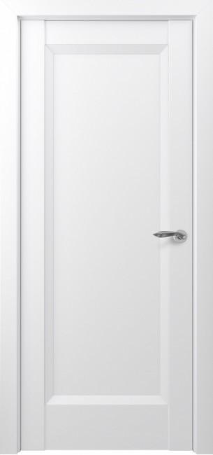 Фото -   Межкомнатная дверь Zadoor ПГ Неаполь тип-N матовый белый   | фото в интерьере