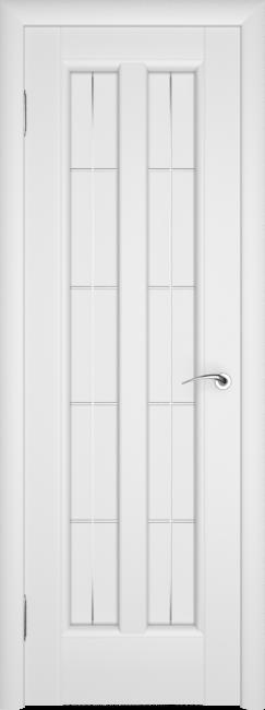 Фото -   Межкомнатная дверь ПО Премьер Белая Эмаль   | фото в интерьере
