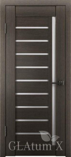 """Межкомнатная дверь """"Атум Х11"""", по, серый дуб"""