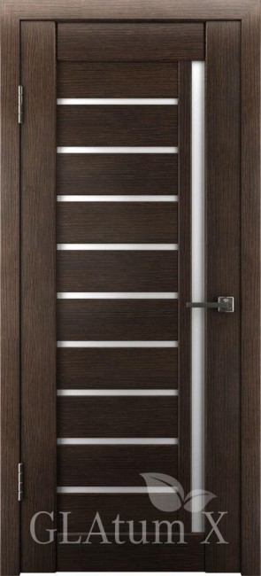 "Межкомнатная дверь ""Атум Х11"", по, венге"
