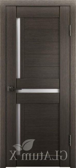 """Межкомнатная дверь """"Атум Х16"""", по, серый дуб"""