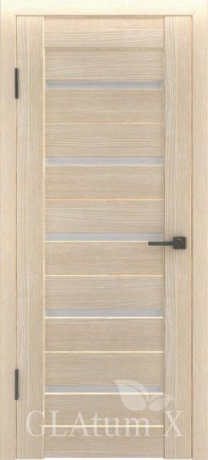 """Межкомнатная дверь """"Атум Х7"""", по, капучино"""